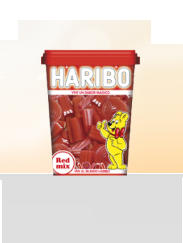 Haribo Red Mix